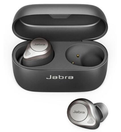 Écouteurs intra-auriculaires sans-fil TWS Jabra Elite 85t - noir