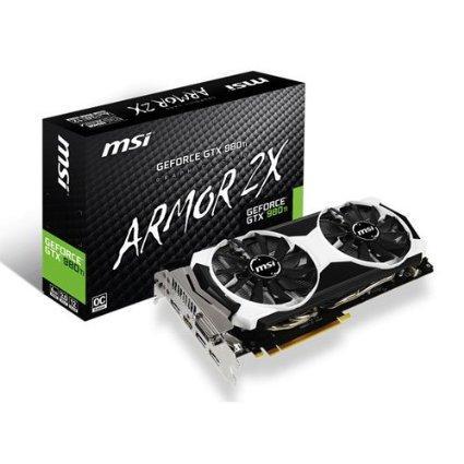 Carte graphique Nvidia GeForce GTX 980Ti MSI 6GD5T OC + Jeu The Division sur PC
