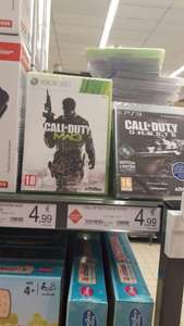 Jeux Call of Duty Ghost sur PS3 ou Call of Duty MW3 sur Xbox 360