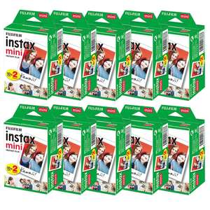 Lot de 100 films Fujifilm Instax Mini