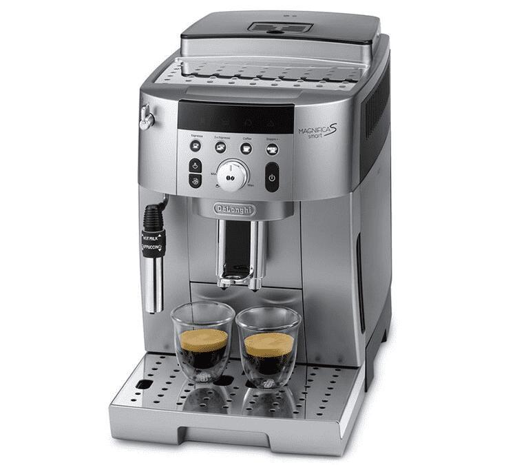 Machine à café automatique avec broyeur Delonghi Magnifica S Smart FEB 2531 SB Doppio+