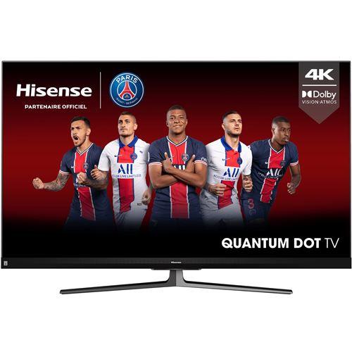 """TV 65"""" Hisense 65U8QF - QLED, 100 Hz (via ODR de 300€) - 934,05€ pour les possesseurs de la carte Fnac"""