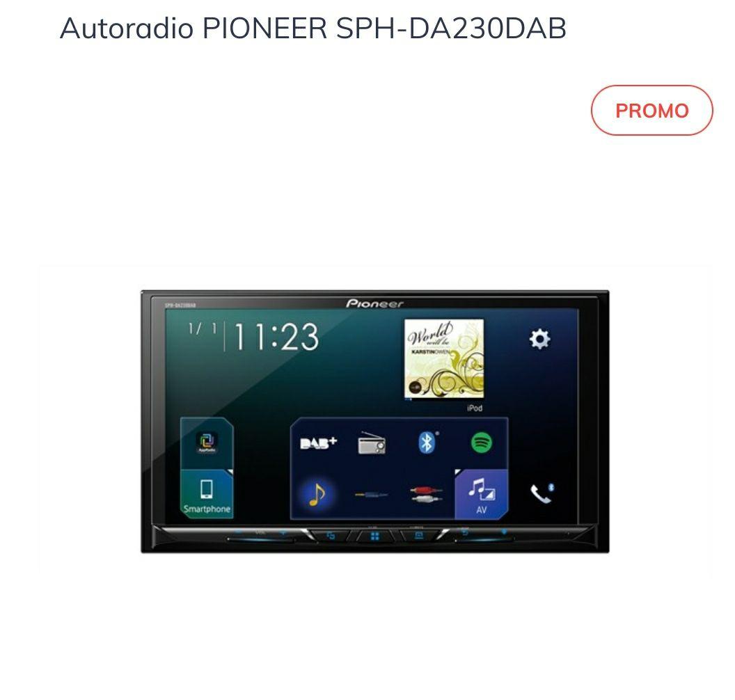 "Autoradio Pioneer SPH-DA230DAB - Ecran 7"""