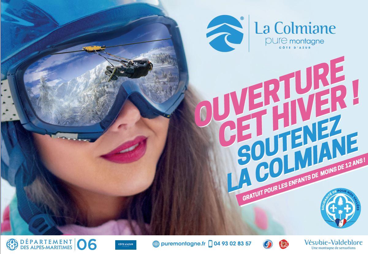 Forfait de ski enfant de moins de 12 ans gratuits toute la saison d'hiver - La Colmiane Valdeblore (06)