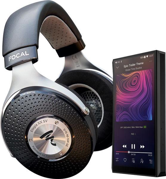 Baladeur audiophile Fiio M11 + Casque audio Focal Elegia
