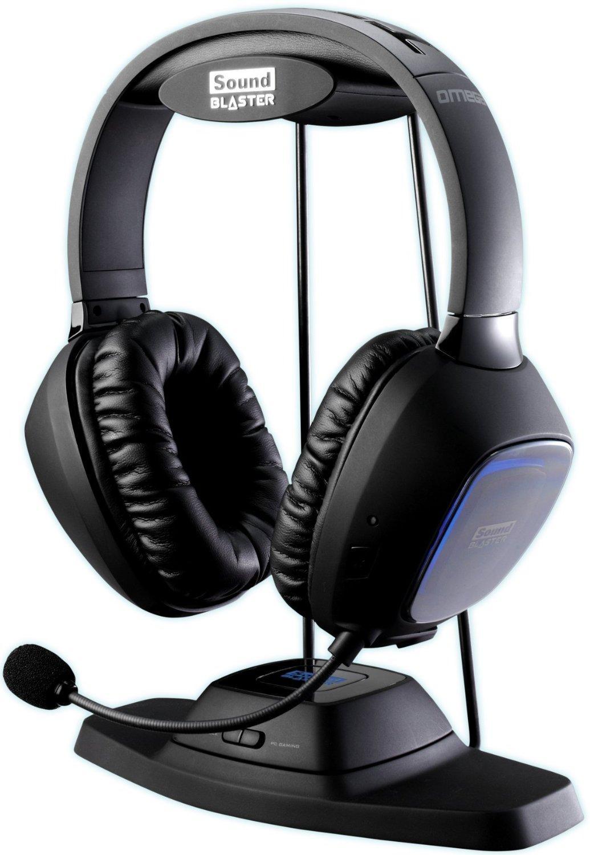 Micro-Casque Gamer Sound Blaster Tactic3D Omega Wireless PC-MAC-XBOX-PS4