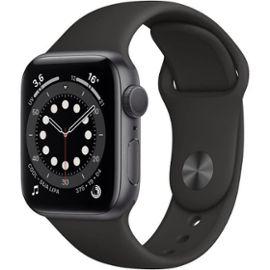 Montre Connectée Apple Watch Series 6 GPS, 40mm, Bracelet Sport Noir (+72€ en Rakuten Points)