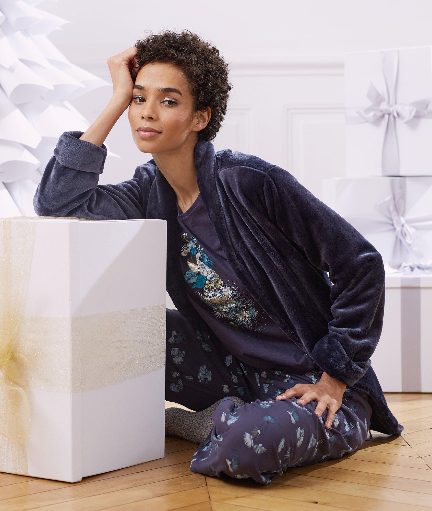 25% de réduction sur le Homewear - Ex : Pyjama 3 pièces imprimé