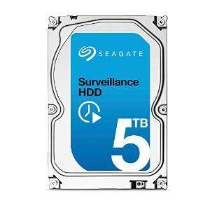 Disque interne Seagate Surveillance - 5 To (7200rpm - 128MB)