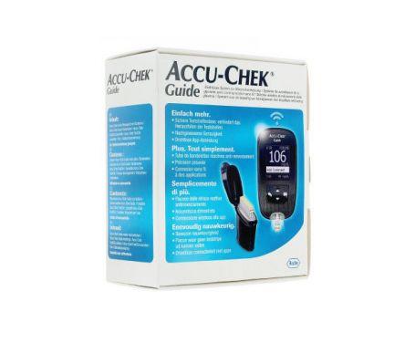 Lecteur de glycémie Accu Chek Guide (doctipharma.fr)