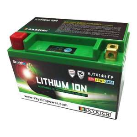 Batterie lithium pour moto Skyrich HJTX14H-FP-S - gentlemen-riders.com