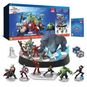 Pack Disney Infinity 2.0 : Marvel Super Heroes - Edition collector sur PS4