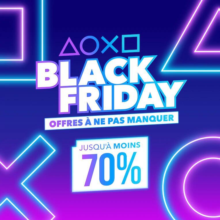 """Sélection de jeux ''Black Friday"""" en promotion sur PS4/PS5 (Dématérialisé)"""