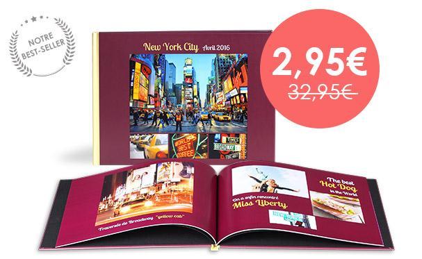 [Nouveaux clients] 30€ de réduction sur les livres photo Prestige Paysage ou format XL - Ex. Livre 26 pages