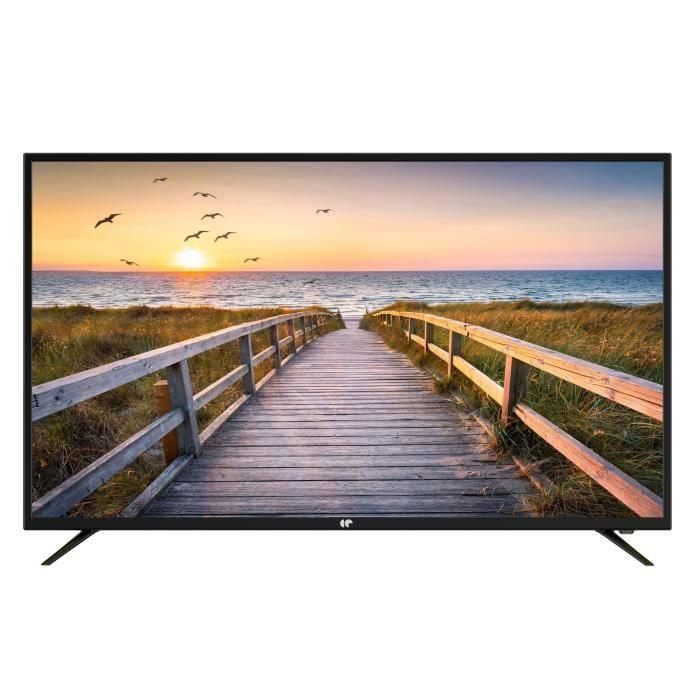 "TV LED 50"" Continental Edison CELED50120B2 - 4K UHD, 3 HDMI"