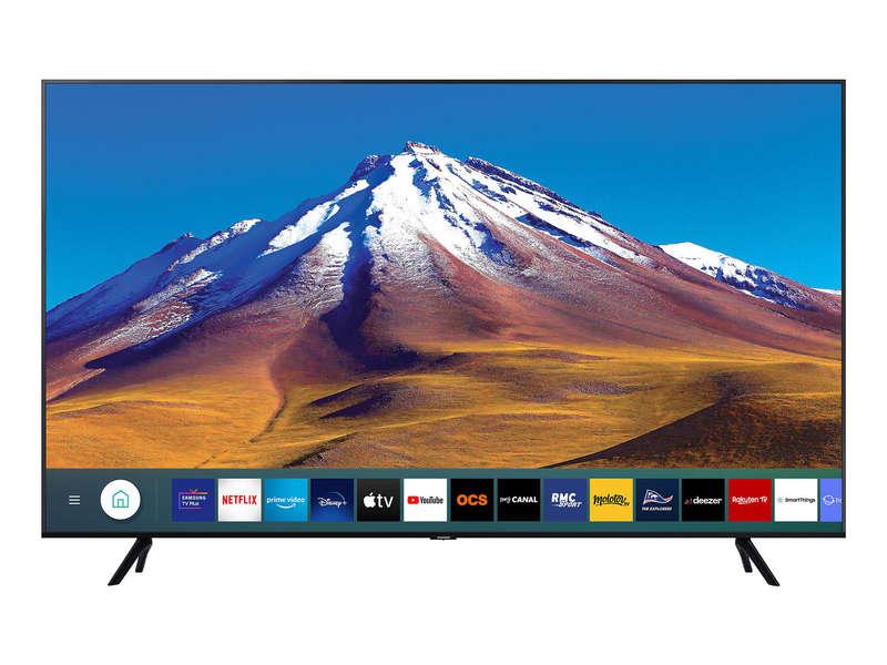 "TV 58"" Samsung 58TU6905 (2020) - 4K, Edge LED, HDR10+ / HDR HLG, Micro Dimming, Processeur Crystal, Smart TV"