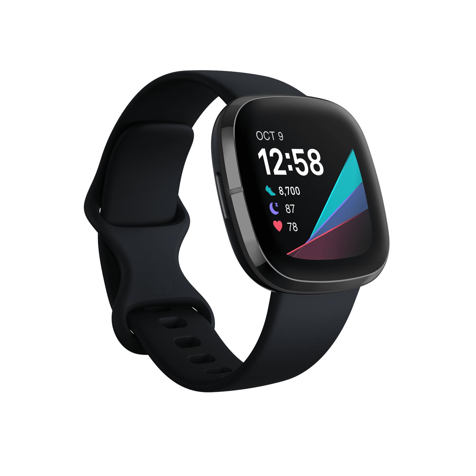 Montre connectée Fitbit Sense - Noir