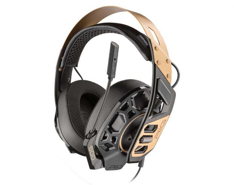 Micro-casque Nacon RIG 500 Pro - Gold (nacongaming.com)