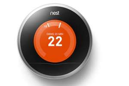 Thermostat connecté Nest Learning (Via Retrait en Magasin)