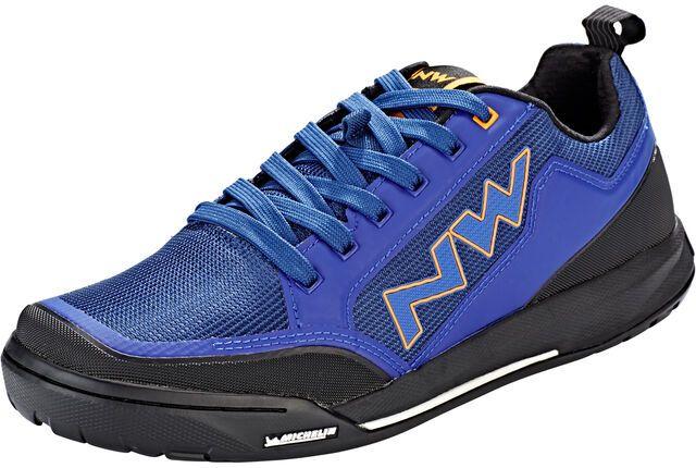 Chaussures VTT Homme Northwave Clan - blue/orange, tailles au choix (bikester.fr)