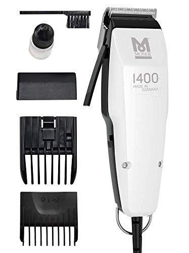 Tondeuse à cheveux filaire Moser 1400 Silver Edition - Blanc