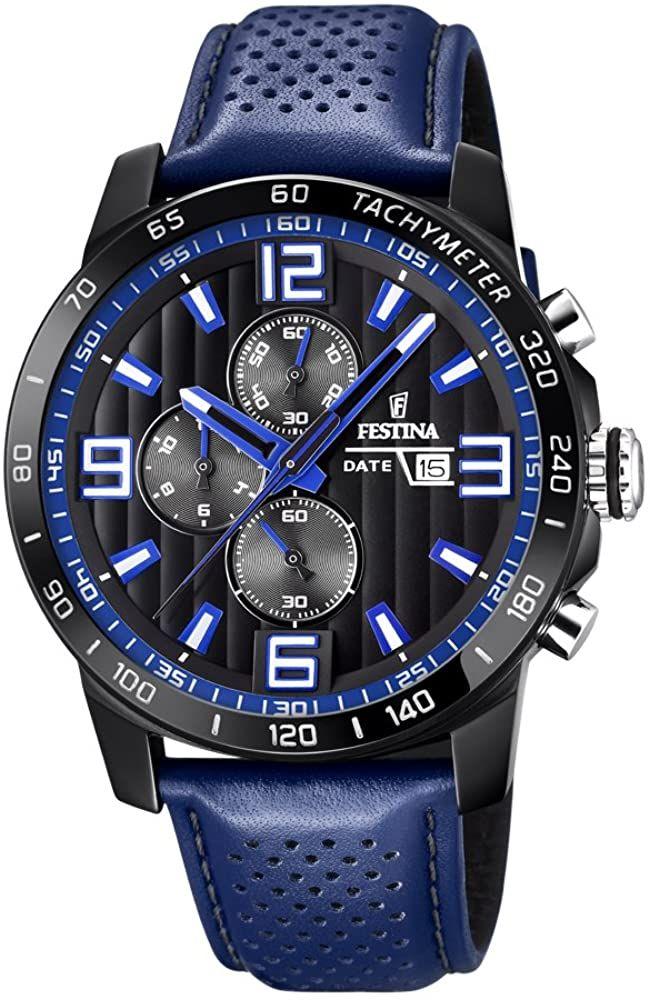 Montre chronographe quartz Festina F20339/4 - Boitier 45 mm, ATM 10