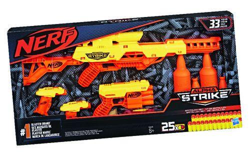 Pack de bataille Nerf Alpha Strike