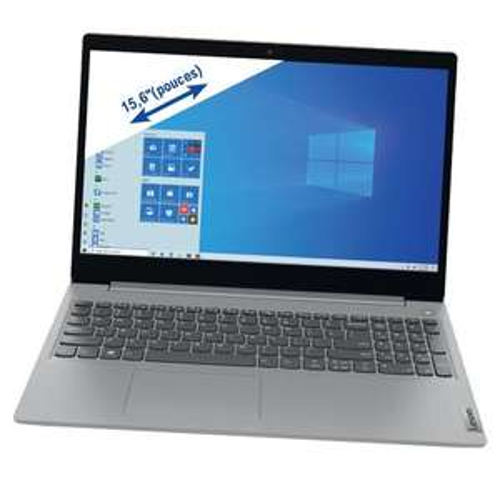 "Pc portable 15.6"" HP 15s-eq0076nf - AMD Ryzen 7 3700U, 8 Go de RAM, SSD 512 Go, Windows 10"