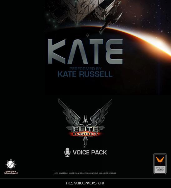 """Contenu additionnel Elite Dangerous - HCS Voice Pack """"Kate"""" gratuit (Dématérialisé) - hcsvoicepacks.com"""