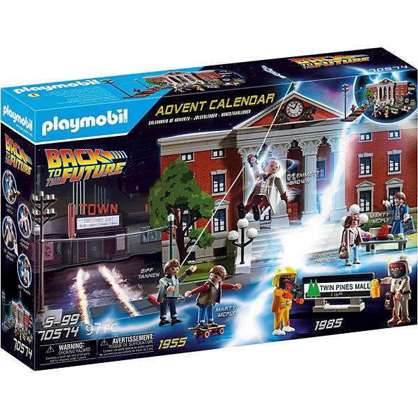 Calendrier de l'Avent Playmobil - Retour vers le Futur (70574)