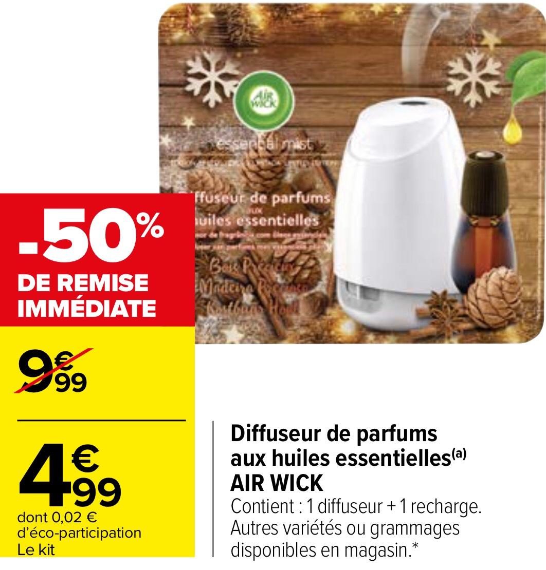 Diffuseur de parfums aux huiles essentielles Air Wick