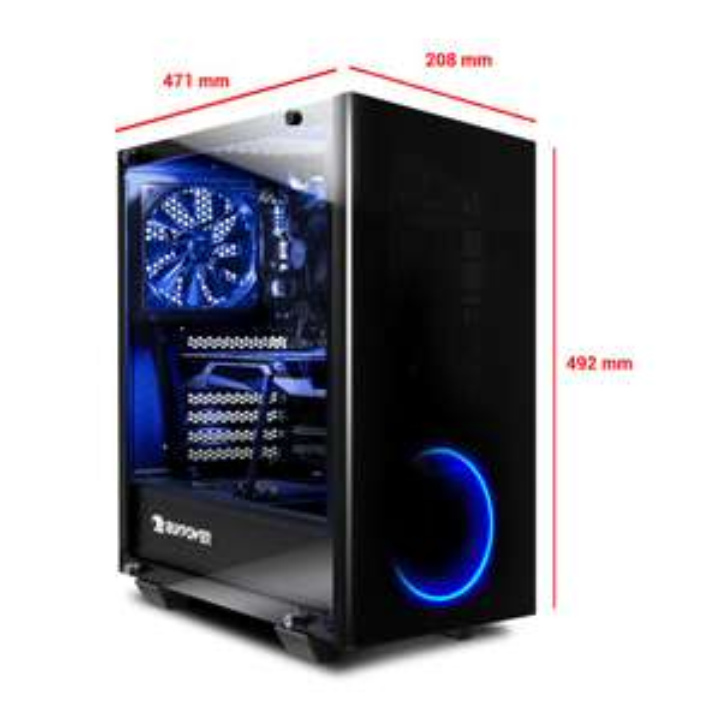 PC Fixe Gamer Thermaltake View 21 TG - Ryzen 7 3700X, 16Go RAM (3200 Mhz), RTX 3070 (8 Go), MSI B450-A Pro , Bequiet! 700W (ibuypower.de)