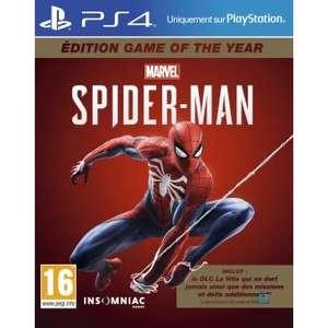 Marvel's Spider-Man sur PS4 édition game of the year sur PS4 (Dématérialisé - Store US)