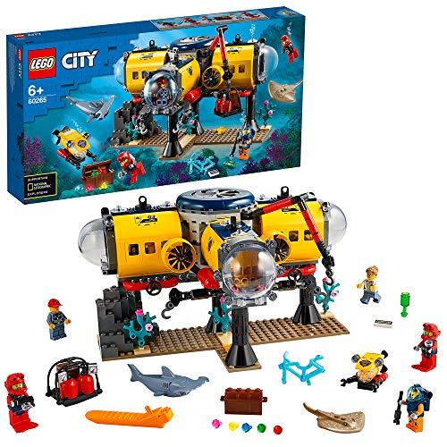 Jouet Lego City - La Base d'exploration océanique (60265)