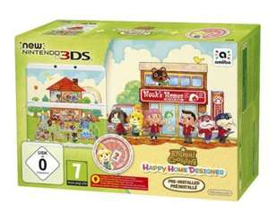 Pack console New Nintendo 3DS + Animal Crossing: Happy Home Designer