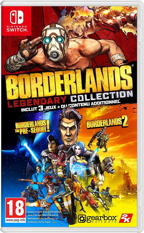 Borderlands Legendary Collection sur Nintendo Switch