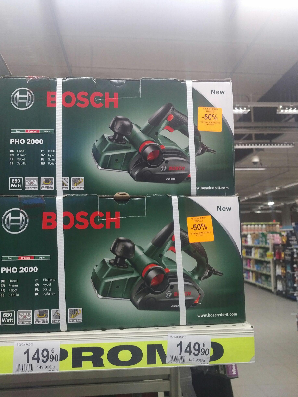 Promotion sur quelques produits Bosch - Ex: Rabot électrique filaire Bosch PHO 2000