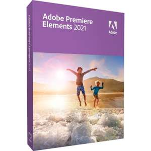 Licence Adobe Premiere Elements 2021 (2 PC ou 2 MAC) - A vie