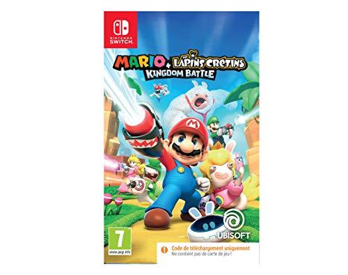 Jeu Mario + Lapin crétin Kingdom Battle sur Nintendo Switch (Dématérialisé)