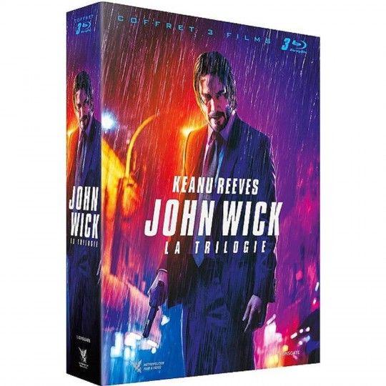 Coffret Blu-Ray John Wick - La Trilogie