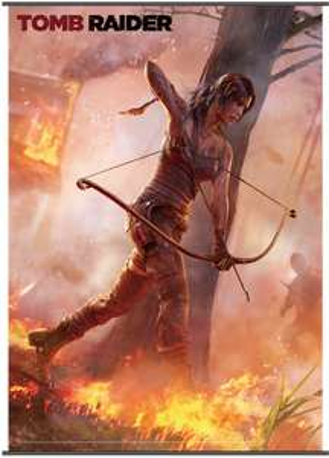 Poster officiel Tomb Raider - Tissu, 1m05 x 77cm