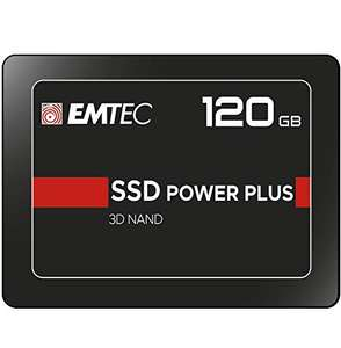 "SSD interne 2.5"" Emtec X150 Power Plus ECSSD120GX150 - TLC 3D NAND - 120 Go"