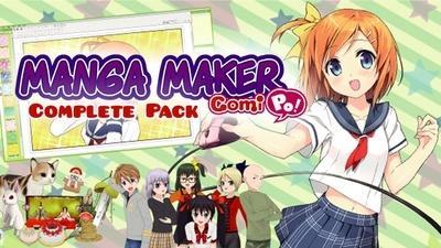 Manga Maker ComiPo Complete Pack sur PC (Dématerialisé - Steam)