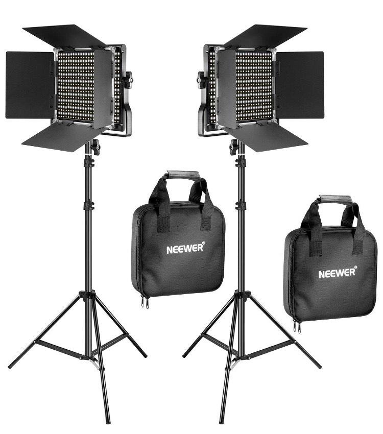 Pack de 2 panneaux LED Neewer 660 LEDs (Vendeur Tiers)