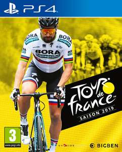 Tour de France 2019 sur PS4 (Retrait magasin)