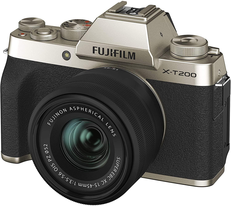 Appareil photo Fujifilm hybride Fujifilm X-T200 + Objectif zoom 15-45mm f/3.5-5.6