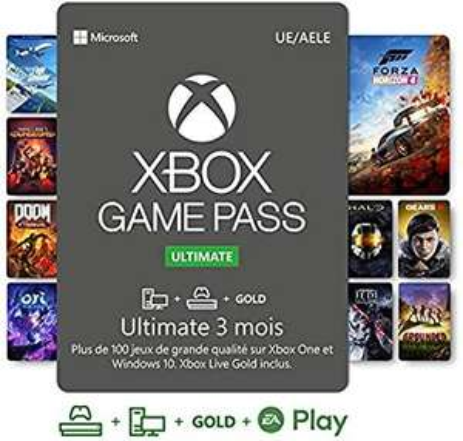 Abonnement 3 mois Xbox Game Pass Ultimate (Dématérialisé - Région USA) - bestbuy.com