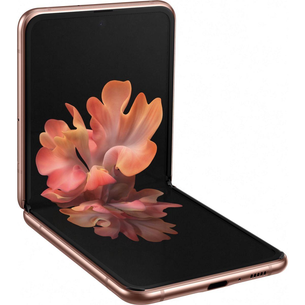 Smartphone pliable 6.7' Samsung Galaxy Z Flip - 5G, 256 Go (+100.08€ en Rakuten Points)