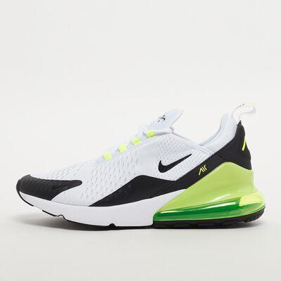 Baskets Homme Nike Air max 270 (Blanc/Noir/Fluo)