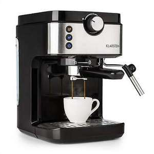 Machine à café filtre Klarstein BellaVita Expresso - 20 bars, 900 ml